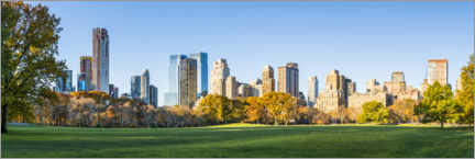 Gallery Print  New York Central Park im Herbst - Jan Christopher Becke