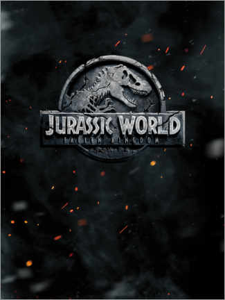 Premium-Poster  Jurassic World - Fallen Kingdom