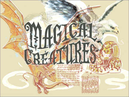 Premium-Poster  Magical Creatures