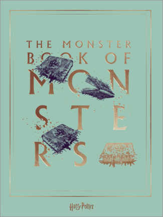 Premium-Poster  Harry Potter - The Book of Monsters