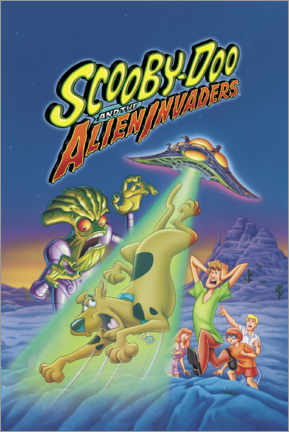 Premium-Poster  Scooby-Doo And The Alien Invaders