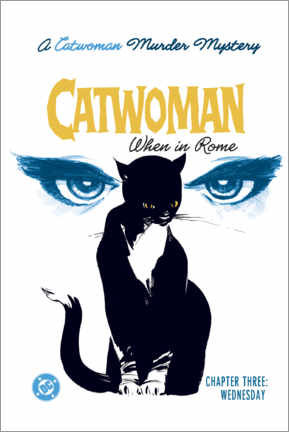 Premium-Poster Catwoman Mystery
