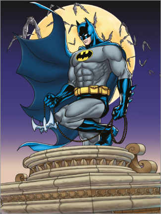 Premium-Poster Batman Moonlight