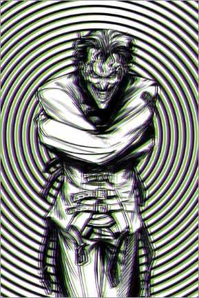 Premium-Poster  The Joker Illusion