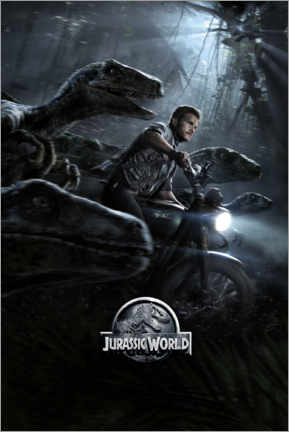 Gallery Print  Jurassic World - Raptor Squad