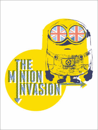 Premium-Poster The Minion Invasion