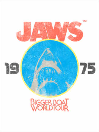 Premium-Poster  Bigger Boat World Tour