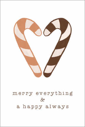 Leinwandbild  Merry Everything - Orara Studio