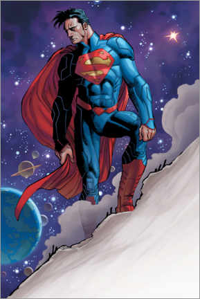 Premium-Poster Superman Space