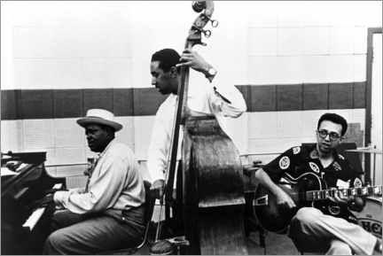 Alubild  Das Oscar-Peterson-Trio, Oscar Peterson, Ray Brown, Barney Kessel