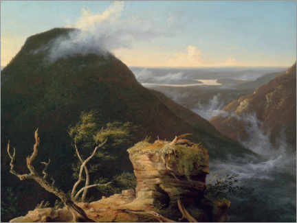 Premium-Poster  Round-Top in den Catskill Mountains - Thomas Cole