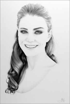 Premium-Poster Kate Middleton