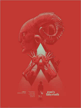 Premium-Poster  Pan's labyrinth - Fourteenlab