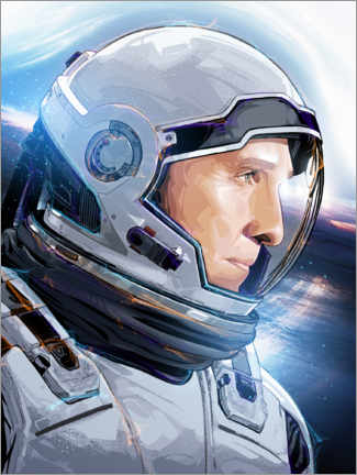 Premium-Poster Interstellar