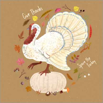 Wandsticker Give thanks