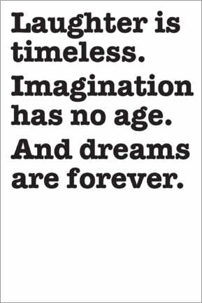 Premium-Poster  Imagination and dreams - THE USUAL DESIGNERS