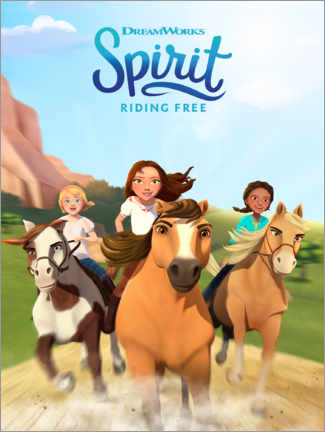 Leinwandbild  Spirit Riding Free