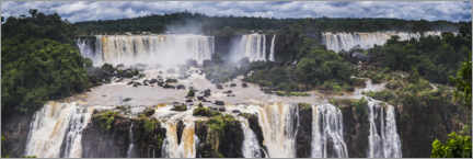 Acrylglasbild  Iguazu Falls in Argentinien - Matthew Williams-Ellis
