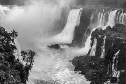 Premium-Poster  Iguazu Wasserfall in Argentinien - Matthew Williams-Ellis