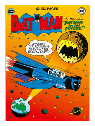Wandsticker  DC Batman Comic - Moon