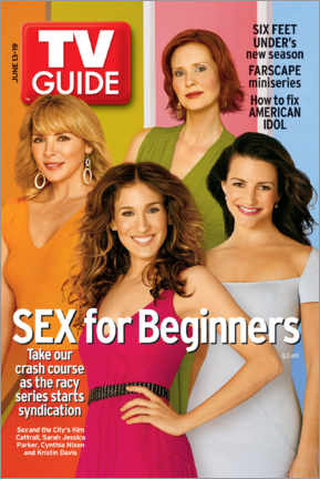 Holzbild  Sex and the City - TV Guide Cover - TV Guide