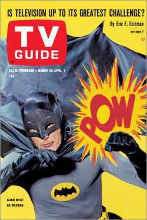 Premium-Poster Batman - TV Guide Cover 1966