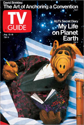 Premium-Poster  ALF - My Life on Planet Earth - TV Guide