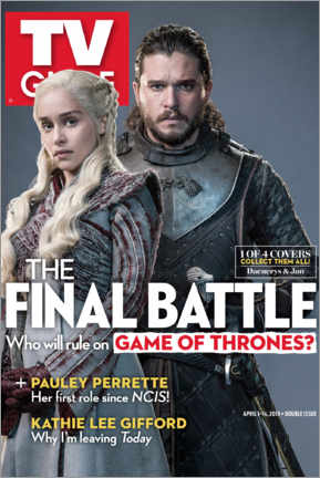 Premium-Poster  Game of Thrones - The final battle - TV Guide