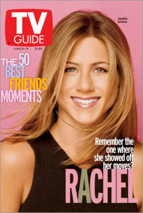 Premium-Poster  Rachel - Friends - TV Guide