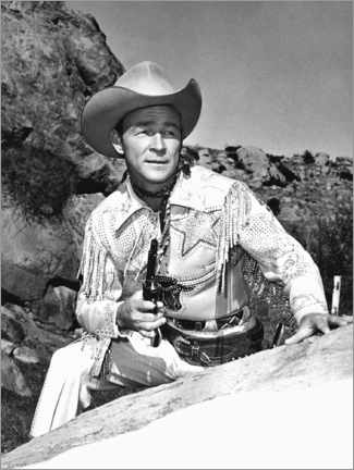 Premium-Poster  The Roy Rogers Show, Roy Rogers