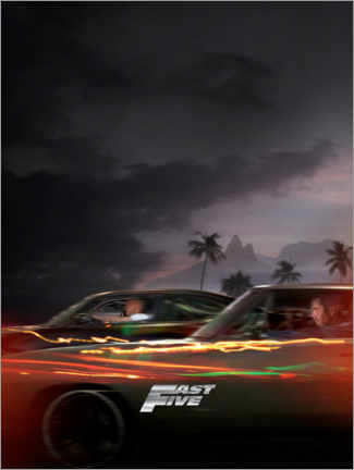 Alubild  Fast Five - Racing