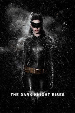 Premium-Poster  The Dark Knight Rises - Catwoman