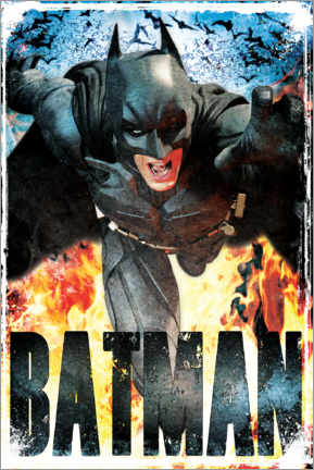 Premium-Poster Batman - The Dark Knight Rises