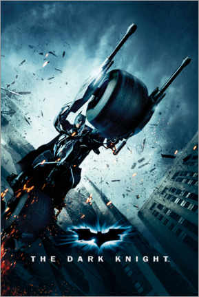 Premium-Poster Batman The Dark Knight Rises - Batpod