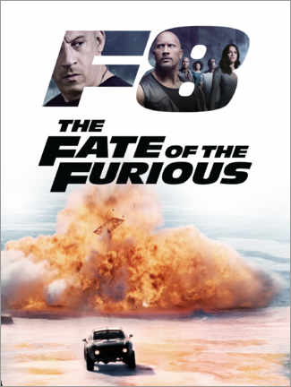 Premium-Poster  The fate of the furious
