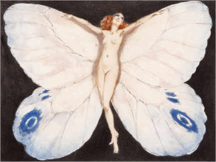 Wandsticker  Schmetterling - Louis Icart