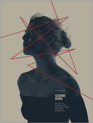 Leinwandbild  Gone Girl ? Das perfekte Opfer - Fourteenlab