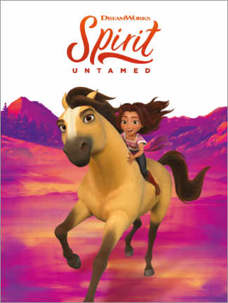 Premium-Poster Spirit Untamed - Ride