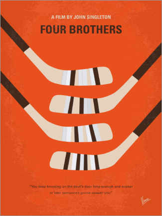 Premium-Poster Four Brothers