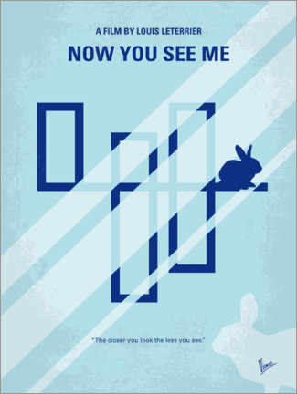 Premium-Poster Now You See Me