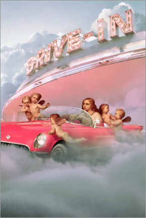 Premium-Poster Himmels Drive-In
