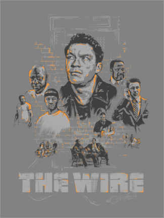 Gallery Print  The Wire, Staffel 3 - The Usher designs