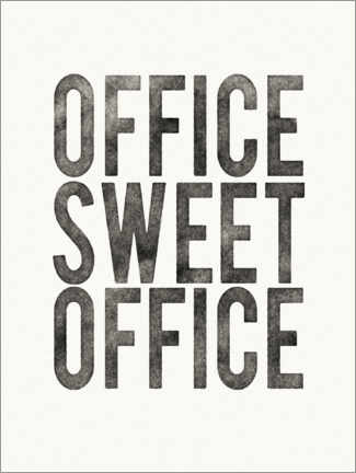 Acrylglasbild  Office Sweet Office - Wild Apple Portfolio
