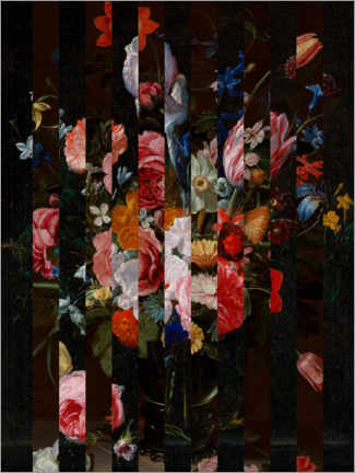 Acrylglasbild  Shifted Flemish Bouquet I - Jacob Green