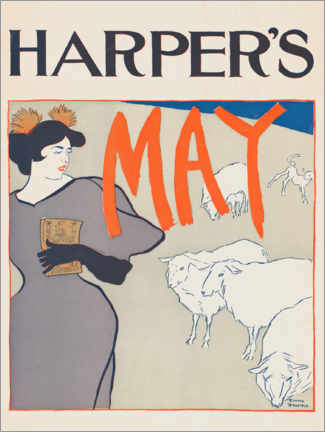 Gallery Print  Harper's May - Edward Penfield