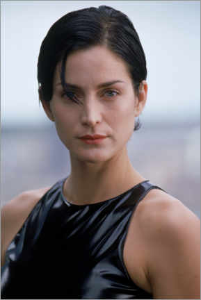 Premium-Poster  The Matrix - Carrie-Ann Moss is Trinity
