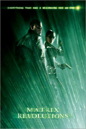Premium-Poster The Matrix Revolutions - Beginning and End