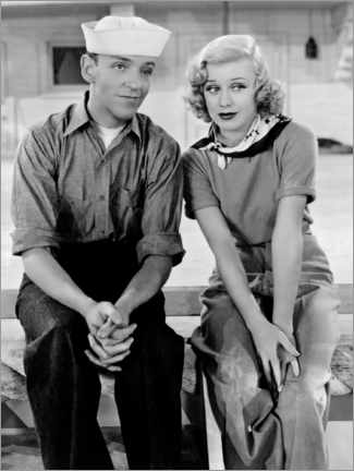 Alubild  Fred Astaire und Ginger Rogers