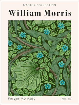 Gallery Print  Forget Me Nots No. 84 - William Morris