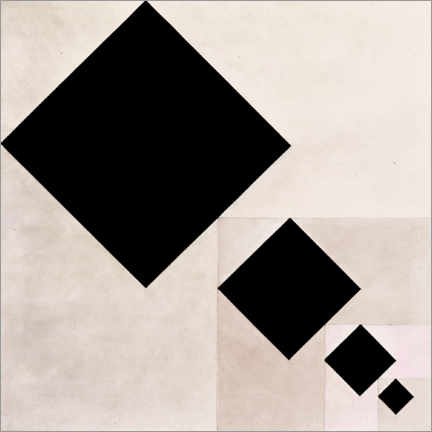 Premium-Poster  Arithmetic composition - Theo van Doesburg